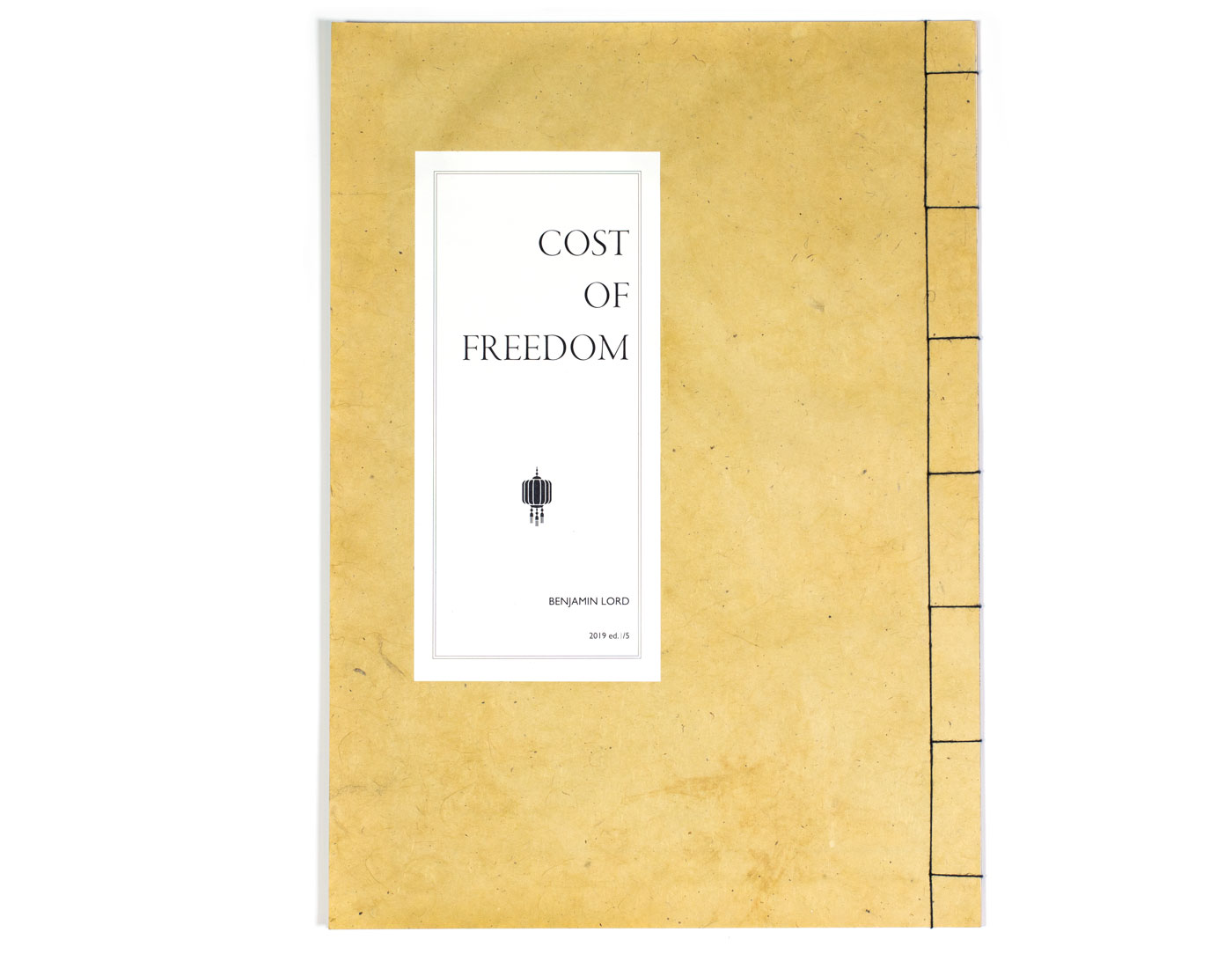 The cover of the book Cost of Freedom